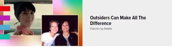 News Feed Ads: - Netflix